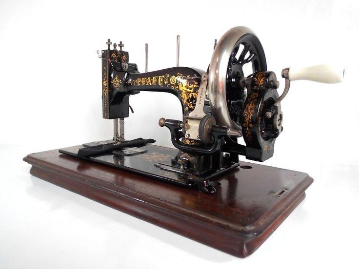 pfaff 30 sewing machine history