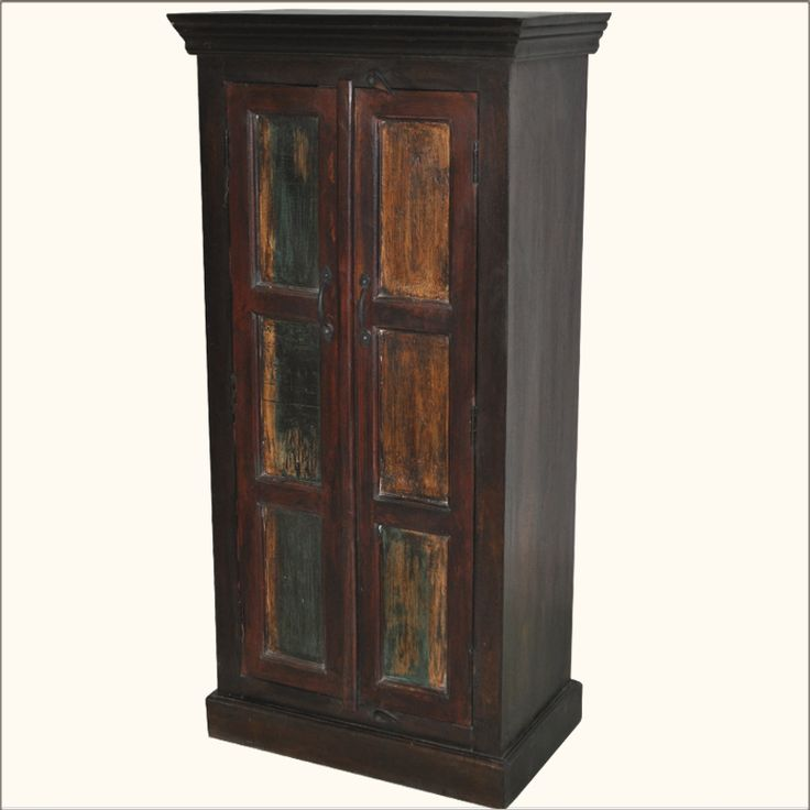 Fresh We bined the traditional structure of an armoire with our modern need for deep shelves and