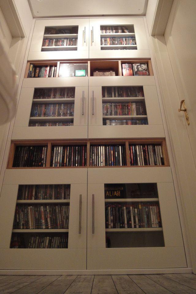 die besten 25 dvd schrank ideen auf pinterest diy dvd aufbewahrung dvd abstellfl chen und. Black Bedroom Furniture Sets. Home Design Ideas