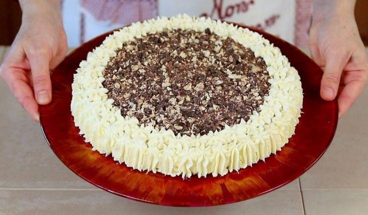 CHEESECAKE AL TORRONE Ricetta Facile – Nougat Cheesecake Easy Recipe