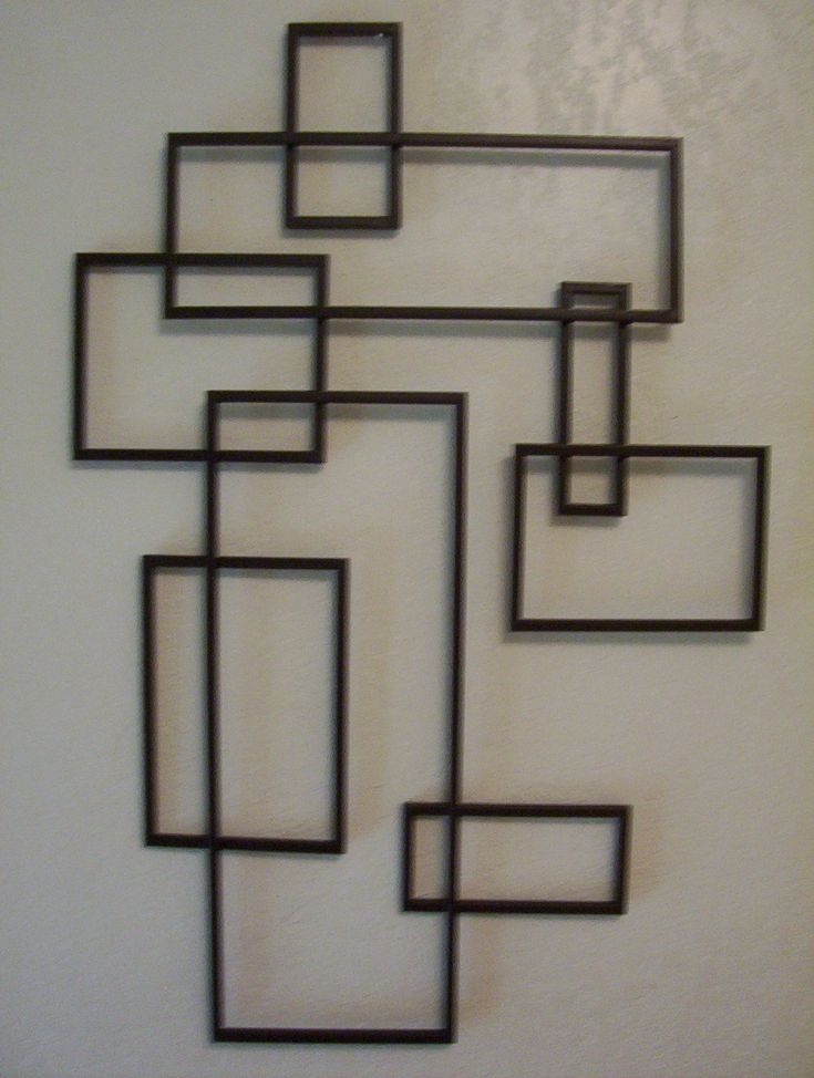 Geometric Metal Wall Art 9 best wall art ideas images on pinterest | wall sculptures, metal