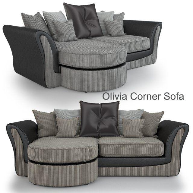 Olivia Corner Sofa 3D Model .max .c4d .obj .3ds .fbx .lwo .stl @3DExport.com by viiik33