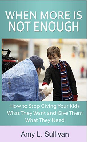 How to stop giving your kids what they want in order to give them what they need. #RaisingGivers #ServingOthers