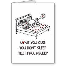 Love You Cause Greeting Card