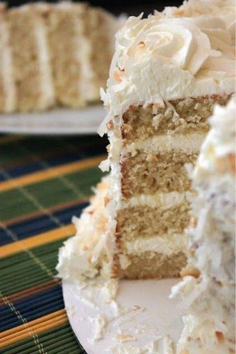Coconut lime cake - you put the lime with the coconut...