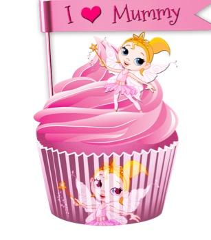 Yummy virtual cupcake made by my little girl