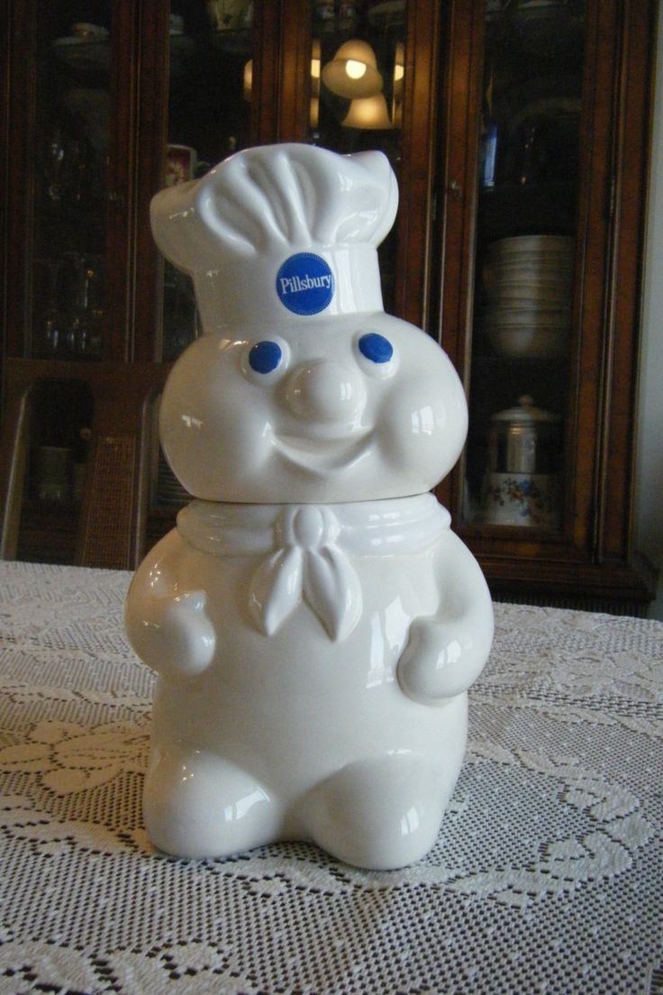 Vintage Cookie Jar | Vintage cookie jar Pillsbury Dough Boy