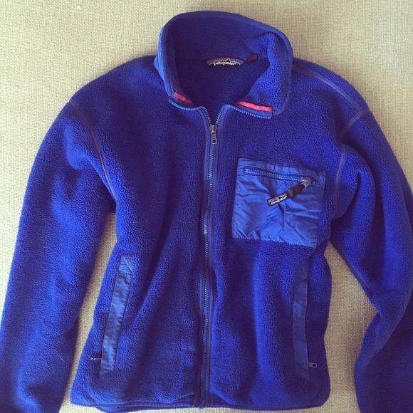 Patagonia fleece jacket Patagonia blue fleece jacket size 10 (m). EUC. Patagonia Jackets & Coats