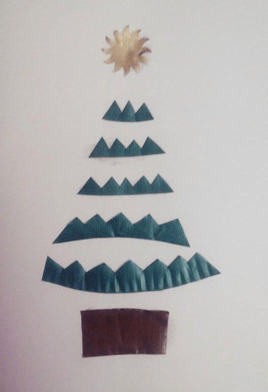 Cómo hacer #postal de #Navidad con #cartulina y #cápsulas #nespresso #Whaltelse #HOWTO #DIY #artesanía #manualidades