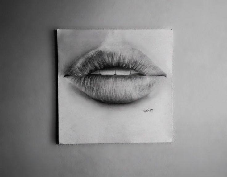 Lips drawing #drawing #art