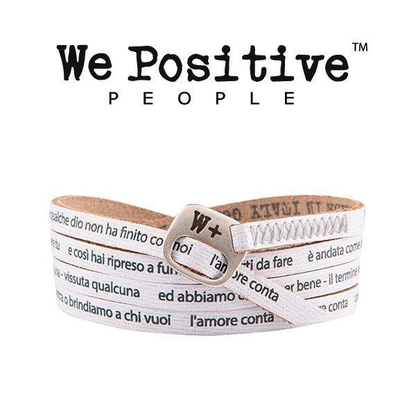 We positive Ligabue, i nuovi bracciali della collezione My Song per i veri fan del Liga! in pelle e nikel free, portali ai concerti!