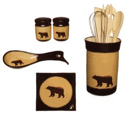 black bear kitchen accessories kitchen decor black kitchen set rustic 4649