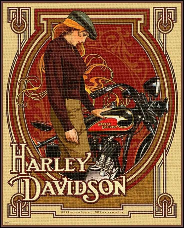 Harley Davidson vintage Poster                                                                                                                                                                                 More                                                                                                                                                                                 Más