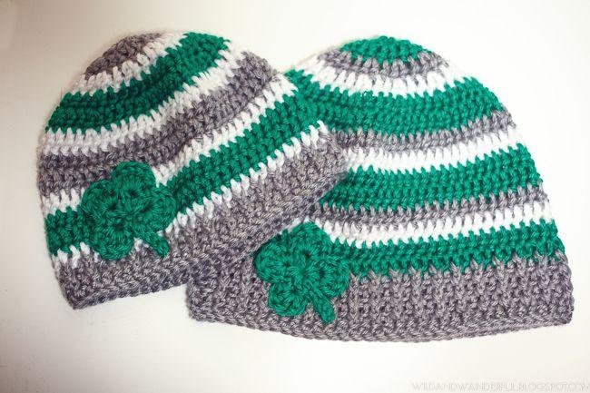 Wild & Wanderful: Luck of the Irish | Free Crochet Hat Pattern