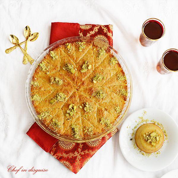 Hareeseh- amazing dessert.