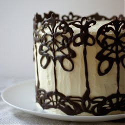 Beautiful cake think I'm going to make cupcakes with this recipe. possible Grand Marnier instead of whiskey
