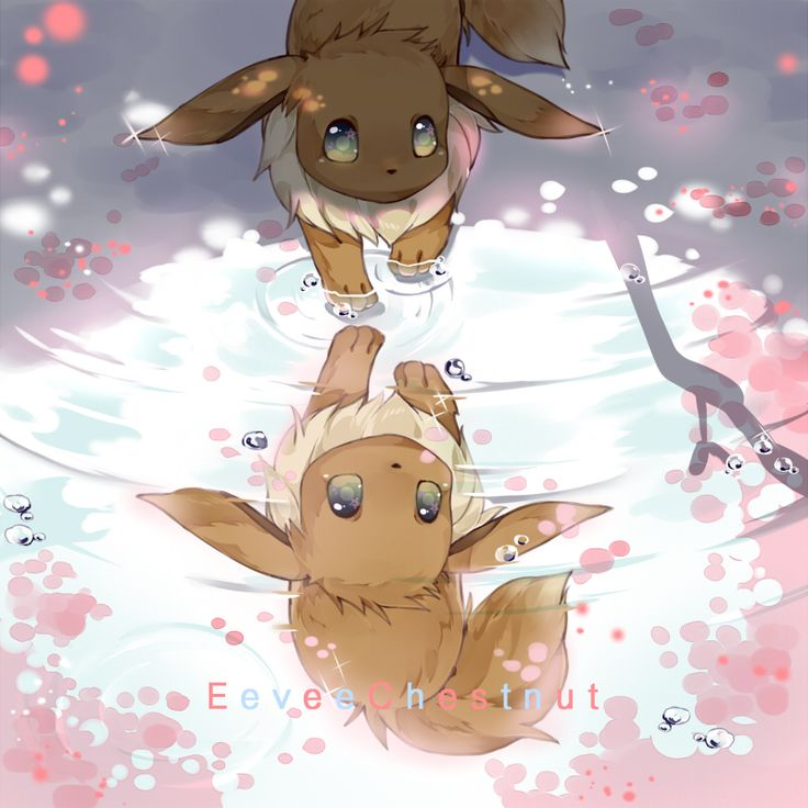 Eevee ^.^ ? in tumblr_o57fisExNC1rvs7gdo10_r1_1280.jpg (800×800) from gourgeist.tumblr.com (Favorite Person)