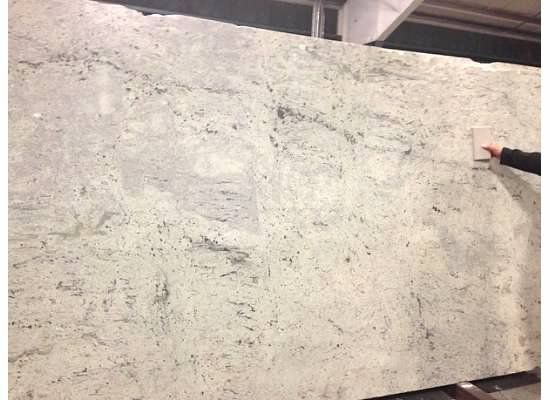 Kitchen Granite Antique White Leather Finish Granite