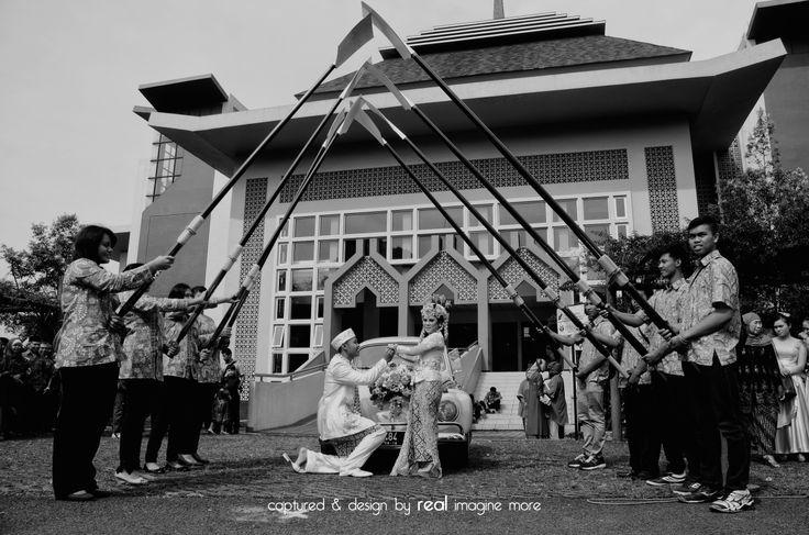 """pedang dayung not pedang pora .: wedding """"neisya&deram"""" :."""