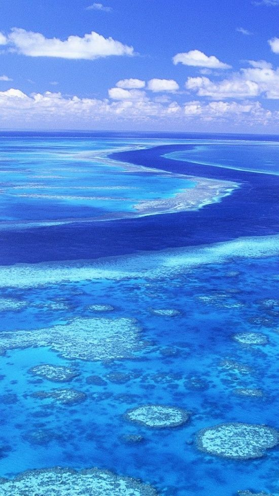 Azure view, Great Barrier Reef, Australia