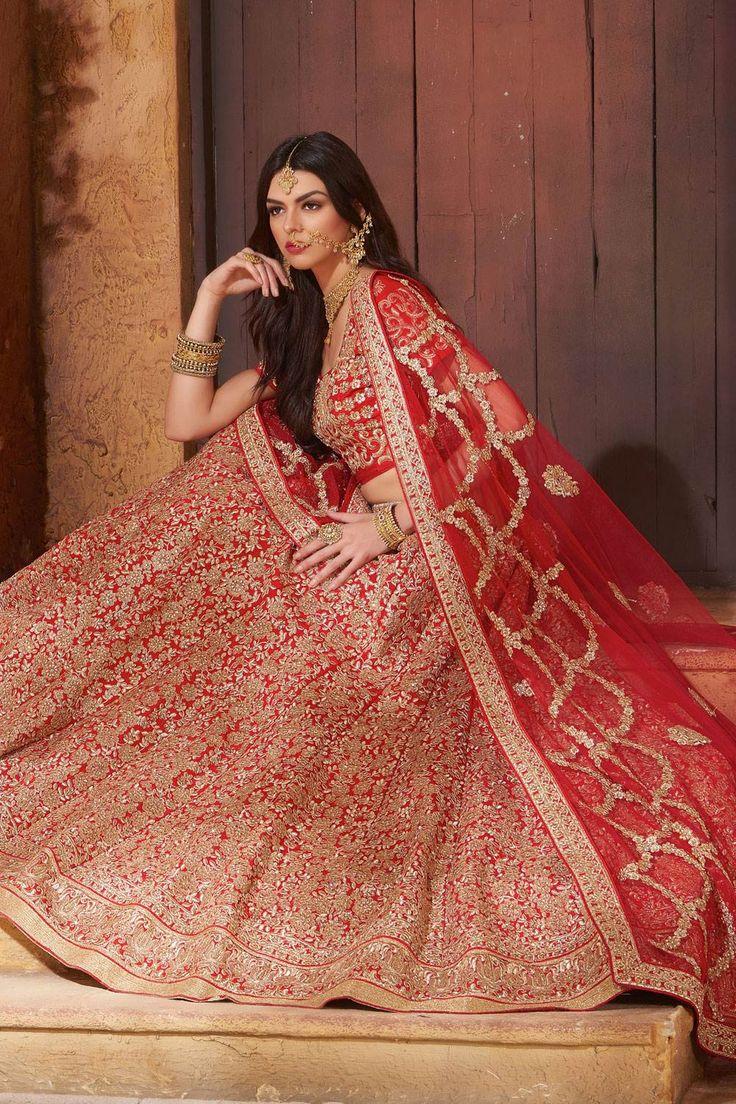 Beautiful wedding Lehenga choli colletion for Marriage. Buy Indian wedding…