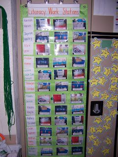 Literacy Centers - organization