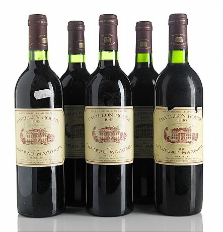 Pavillon Rouge Du Chateau Margaux - Various vintages