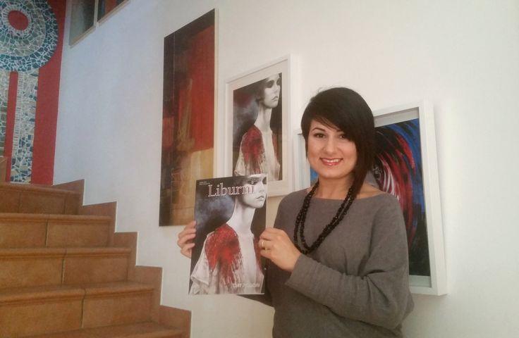 """La mia Opera """"Ricordo"""" in Copertina sulla Rivista d'Arte e Cultura LIBURNI."""