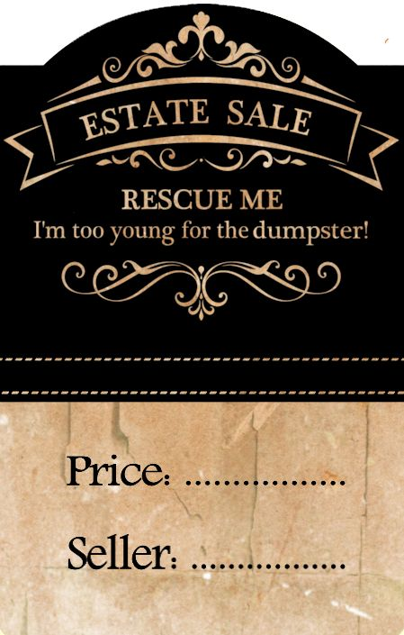 12 best Estate Sale Signs images on Pinterest Decor ideas, Free - printable car for sale sign template