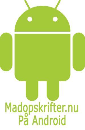 Madopskrifter.nu til Android