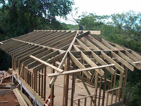 Hip Rafter And Ceiling Joists Layout Tips House Framing