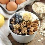 Blueberry Lemon Baked Oatmeal Cups   Street Smart Nutrition