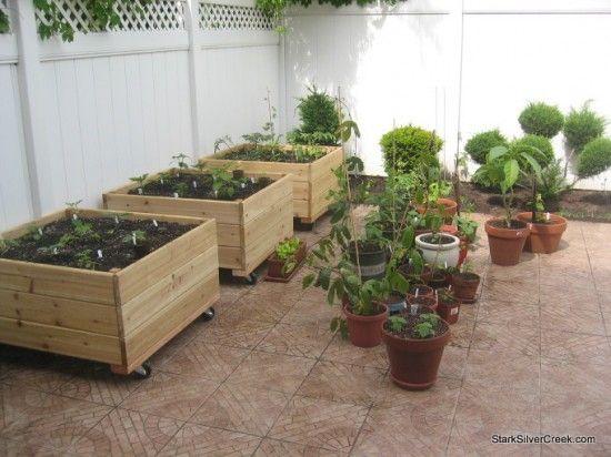 Vegetable planter box DIY inspiration from T-Bone - Stark Insider