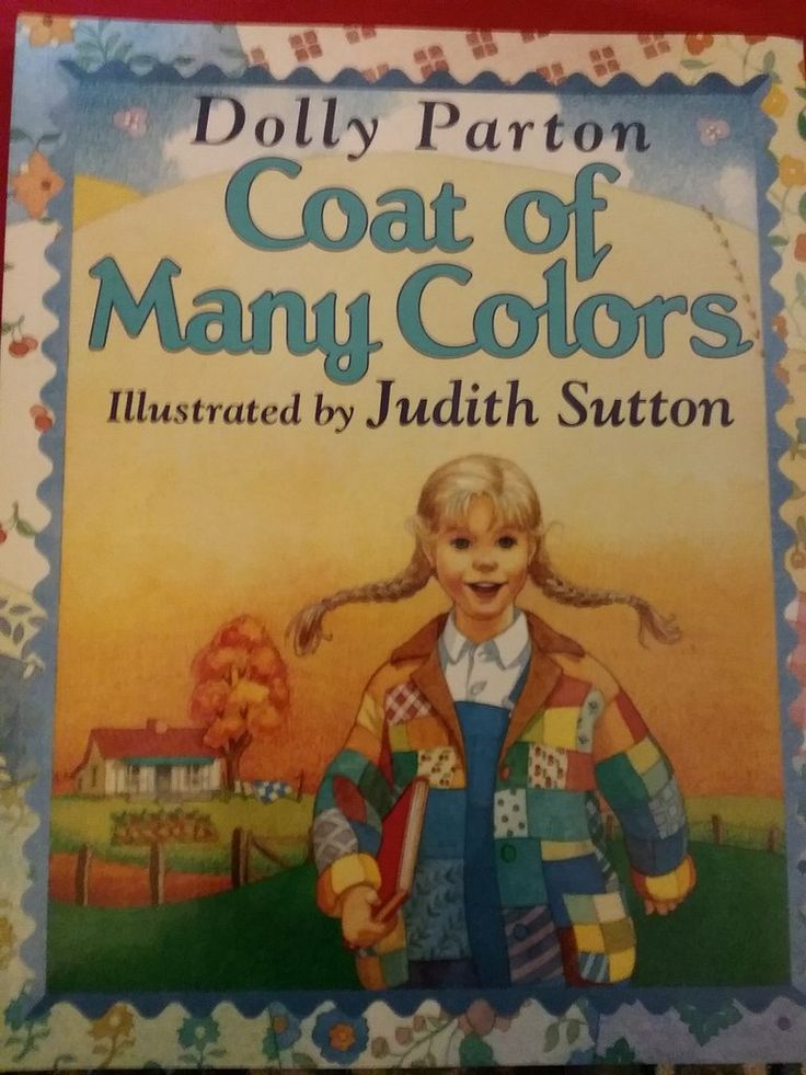 coat of many colors by dolly parton paperback coats products and colors - Dolly Parton Coat Of Many Colors Book