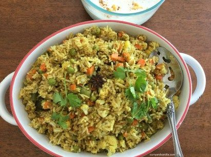 satvik vegetable pulao in 2019 garlic recipes rice dishes indian food recipes on hebbar s kitchen chicken biryani id=60186