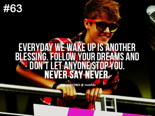 """""""Everyday We Wake Up Is Another Blessing. Follow Your"""