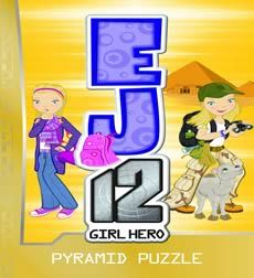 Fiction for younger readers: EJ12 Girl Hero: Pyramid Puzzle by Suzanne McFarlane