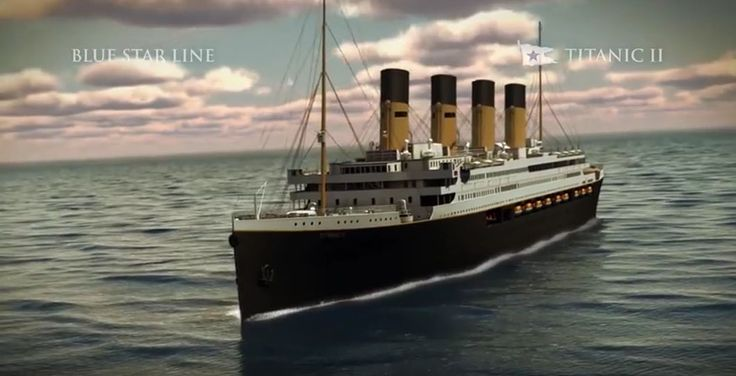 Photo tour of Titanic II, replica of the original Titanic that will set sail in 2018. #cruise #Titanic