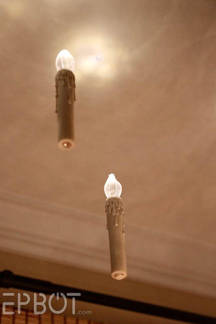 EPBOT: Harry Potter Inspired Floating Christmas Candles! http://www.epbot.com/2014/12/harry-potter-inspired-floating.html