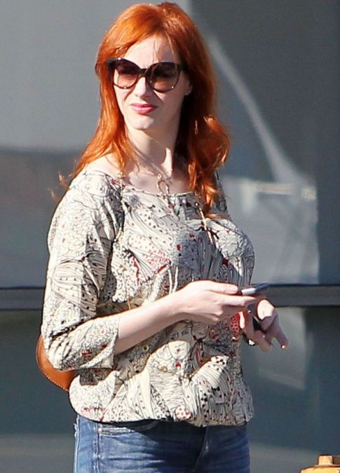 christina hendricks real nude