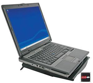 refroidisseur pour pc portable - hub 4 x usb 2.0