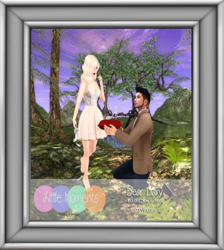 Little Moments Poses http://maps.secondlife.com/secondlife/Jack%20and%20Jones/191/55/2801