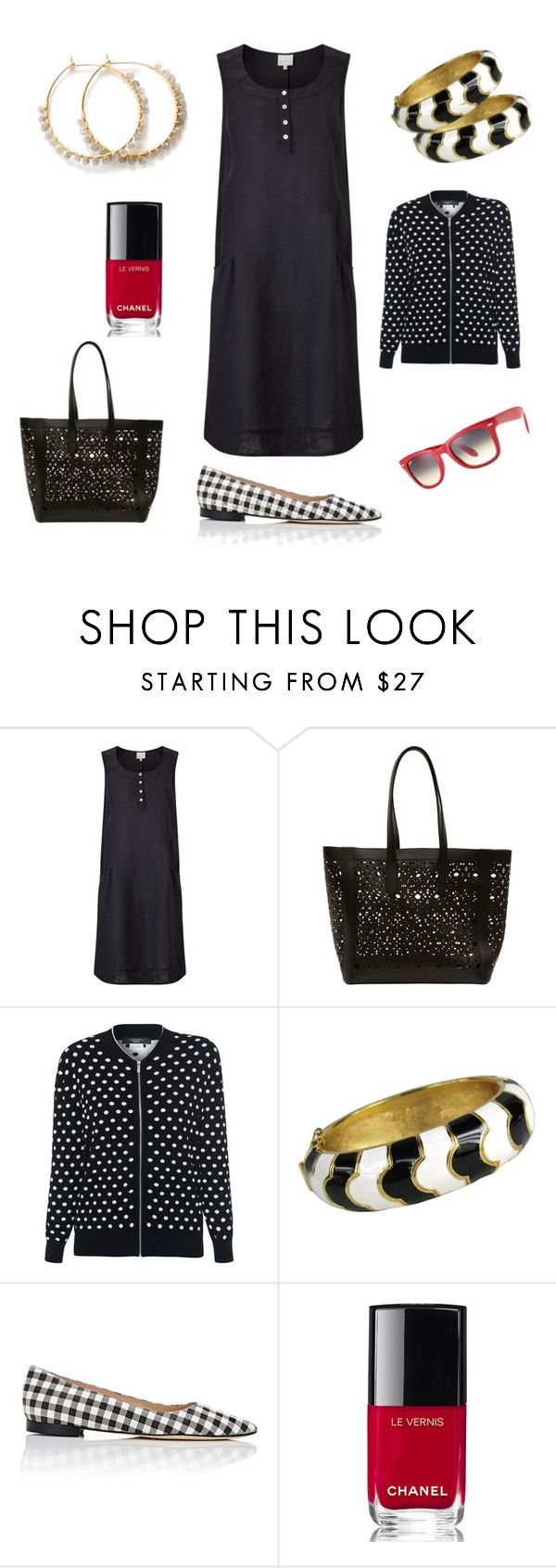 Les Petites Robes Noires by tishjett on Polyvore featuring EAST, Weekend Max Mara, Manolo Blahnik, MaxMara, Ciner, Ray-Ban and Chanel