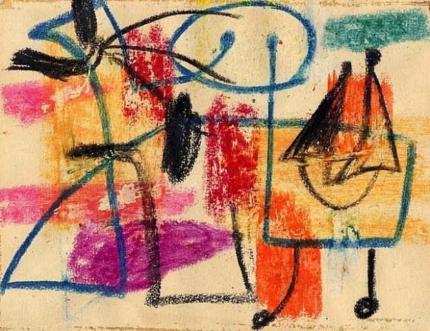 Arshile Gorky (1904-1948) was een Armeens-Amerikaans kunstenaar die betrokken was bij het ontstaan, in de jaren veertig van de 20e eeuw, van het abstract expressionisme. In het kader van de Amerikaanse kunst wordt Gorky, net als Hans Hofmann, gezien als een belangrijke schakel tussen de modernistische Europese stromingen en het abstract expressionisme. Met Willem de Kooning deelde hij ook een atelier. Ze hadden als gemeenschappelijke interesse Picasso.