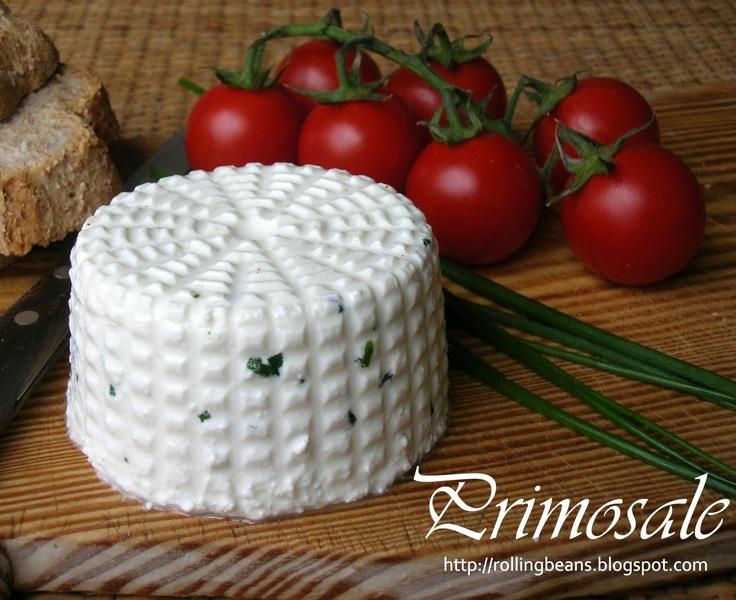Come fare il primosale #formaggio fatto in casa