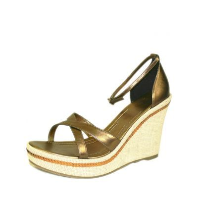 Accessories :: Shoes :: RMK Dawn bronze wedges - $39
