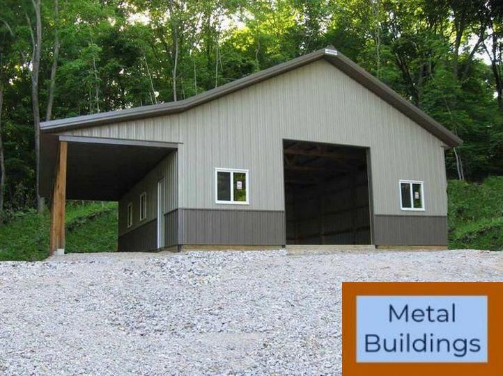 Steel Buildings Amp Amp Carports Portable And Steel Buildings And Metal Buildings Interior Metal Buildings Metal Building Kits Steel Buildings