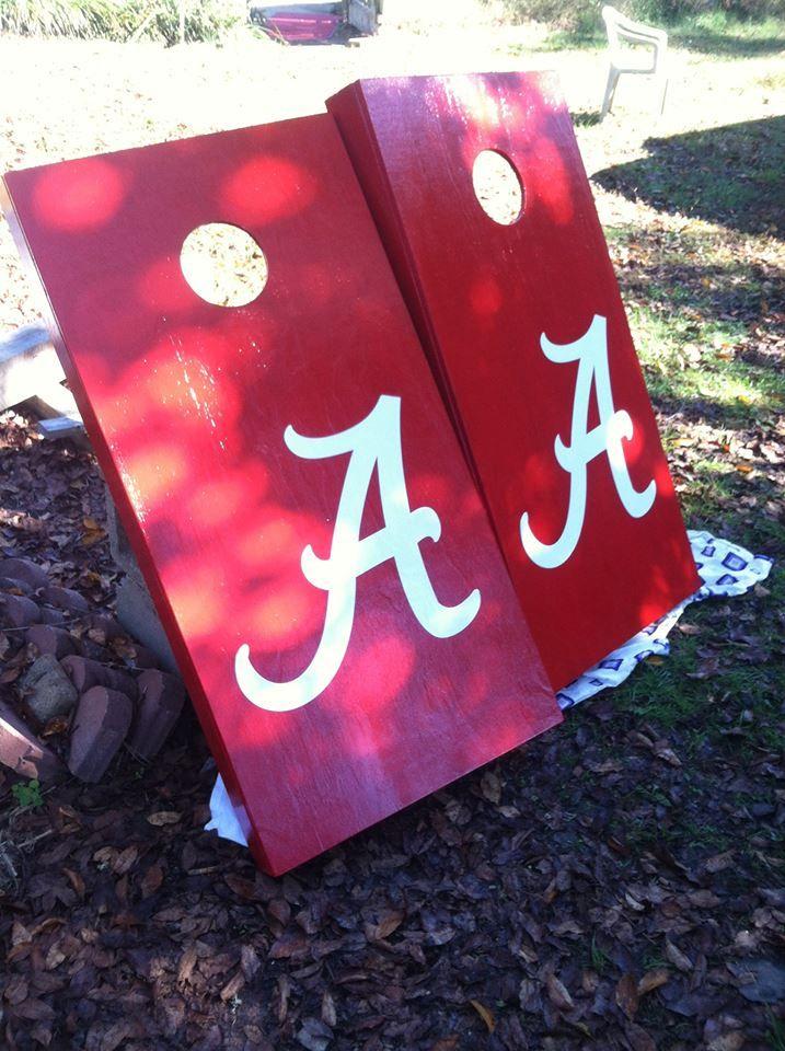 Alabama Cornhole Boards #emddesigns
