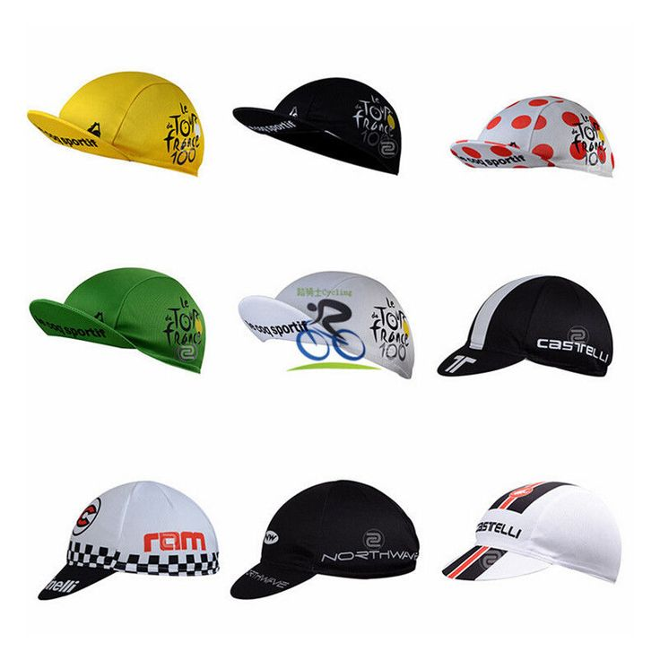 Unisex Cycling Hat Bicycle Sports Cap Absorb Sweat Sunhat Suncap Polyester Mesh #Unbranded