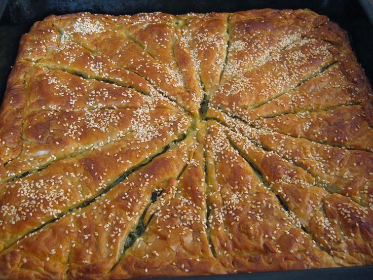 Σπανακοτυρόπιτα στο λεπτο! | crete-news.gr